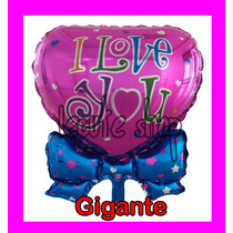 Globo Gigante Corazon Metalico San Valentin Regalo Dia Amor