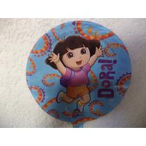 Globos Metálicos 10 Dora La Exploradora Fiestas 9 Pulgadas