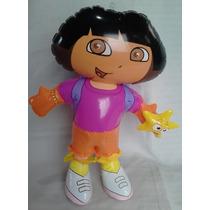 4 Figura Inflable Dora Exploradora Regalo Fiesta Venta