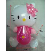 5 Bonitas Figura Inflable D Hello Kitty Fiesta Regalo P Niña