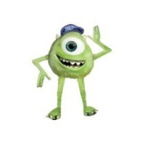 Globo Gigante Mike Wasausky Monsters Caminante Inflable Heli