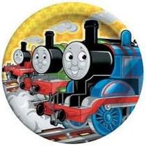 Thomas Tomas Tren Platos Fiesta Infantil Train Decoration X8