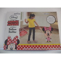 Minnie Mouse Globo Air Walkers Decoración 78 Alto 58 Largo
