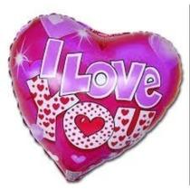 Globo Metálico Para Inflar San Valentín