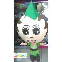 Piñata Peter Pan Campanita Garfio Meteoro Icarly