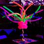 100 Globos Salchicha Neon Fluorescentes Fiesta Boda Batucada