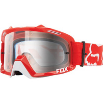 Googles Fox 2016 Air Defence Color Rojo Mica Transparente