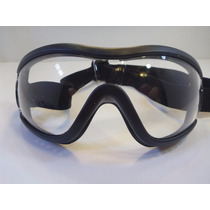 Goggles Tipo Motociclista Lente Google Gogles Transparentes