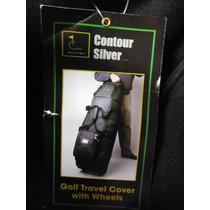 Maleta Para Bolsa South Bay Contour Silver Golf Travel Cover