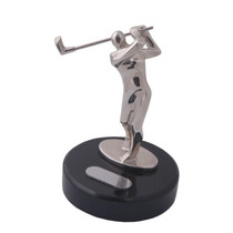 Trofeo Golf Metal Cromado 13cm, Impreso C/tu Logo (1pza) Ex