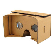 Lentes Google Cardboard Realidad Virtual Rv Cartón Vr 3d