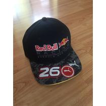 Gorra Flat De Red Bull De Fórmula 1 2016
