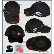 Gorra De James Hunt Tributo Mclaren F1 Team Autentica Rush