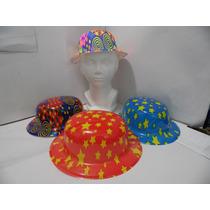 Sombrero Para Fiesta Temática Tipo Bombin Paquete De 10 Pzas