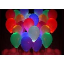 Globos Luminosos Led Para Fiestas Eventos Paquete 10pzas
