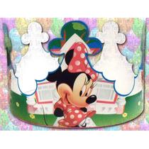Coronas Minnie Mouse Mide 60x10 Cm (paquete De10 Piezas)