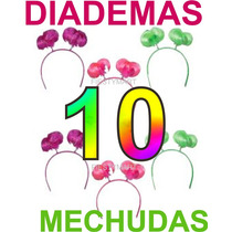 10 Diademas Mechudas Fiestas Eventos Animación Sombreros