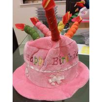 Sombrero De Pastel Cumpleaños,fiesta,evento Envio Inmediato