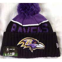 Nfl Baltimore Ravens Cuervos Gorro New Era Beanie