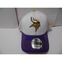 Gorra New Era Nfl 100% Original 39thirty Vikings Minnesota