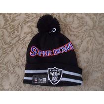 Nfl Oakland Raiders Gorro Conmemorativo Super Bowl Xl