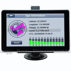 Gps 7 Entrada De Video Y Bluetooth Manos Libres 4gb Omm