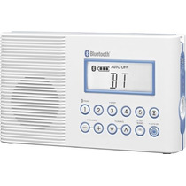 Radio Sangean H202 Fm / Am Bluetooth Baño Ducha Vv4