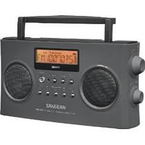 Sangean Pr-d15 Fm Estéreo / Am Radio Portátil Recargable Con