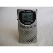 Radio Am-fm Radio Shack Mod. 12-802 Digital Vintage Alarma