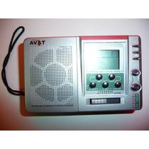 Radio Digital Mundial Digital Am Fm Audifonos Av&t Avt404