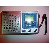 Radio Digital Mundial Digital Am Fm Tv Audifonos Av&t Avt01