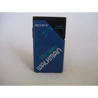 Radio Fm Sony Walkman Mod. Srf-20w Vintage Azul