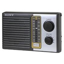 Sony 2 Receptor Banda Portátil Am & Fm Transistor Radio Dial