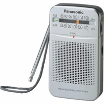 Radio Portatil Panasonic Am/fm Analogic P50 Correa Audifonos