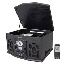 Exclusivo Componente Con Tornamesa Cd Cassette Y Radio Pyle