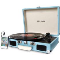 Tornamesa Crosley Tocadiscos Vinyl Turquesa Entrega Inmediat