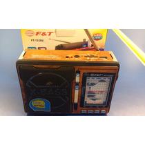 Radio Estilo Vintage Am/fm/sw8/mp3 / Sd /lampara Led