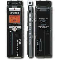 Yamaha - Pocketrak Grabadora Digital De Voz De 2g - Negro
