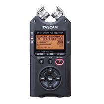 Grabadora Digital Portatil De Voz Tascam Dr-40 4-track Dgv