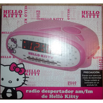Radio Reloj Despertador Am / Fm Kitty
