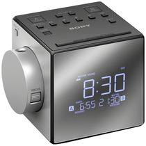 Sony® Radio Reloj Despertador Am/fm Con Usb Mod. Icf-c1pj