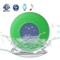 Bocina Recargable Bluetooth Baño Regadera Contra Agua