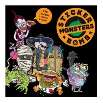 Stickerbomb Monsters, Laurence King Publishing
