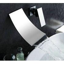 Llave Grifo De Lavabo Baño O Tina Mezcladora Monomando Muro