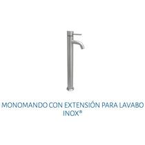 Monomando Con Extensión Para Lavabo Urrea 9419 Inox