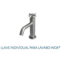 Llave Individual Para Lavabo Urrea 9250 Inox