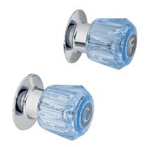 Manerales Color Azul Para Regadera Foset 49461