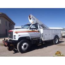 Camion Canastilla De 40 Ft Para Servicio Sistema Folio 7180