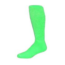 Peso Pesado De Neón Verde Medio Sólido-colortube-calcetín