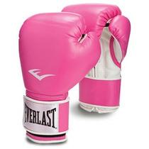 Par Guantes Box Everlast 8 Onzs Rosa Entrenamiento Gym